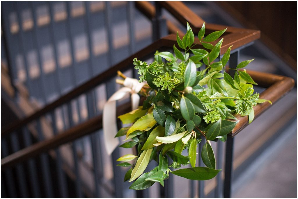 decorations at District Winery wedding